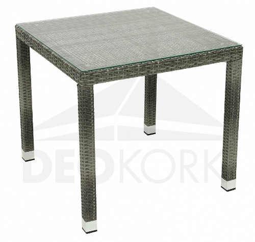 Kvalitní ratanový stůl NAPOLI 80x80 cm