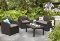 Moderní pohodlné posezení na zahradu Carolina