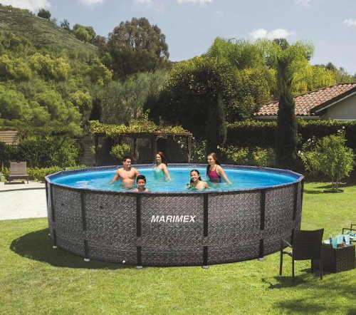 Rodinný nadzemní bazén Florida ratan