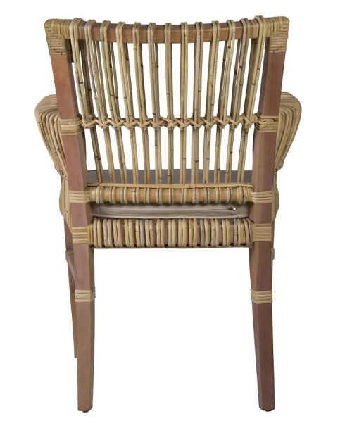 Zahradní ratanová židle do každého stylu