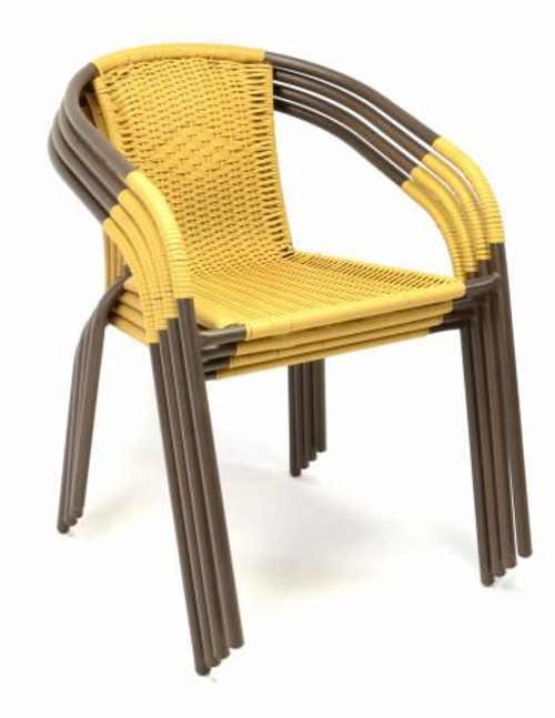 Zahradní židle nenáročné na prostor na zazimování