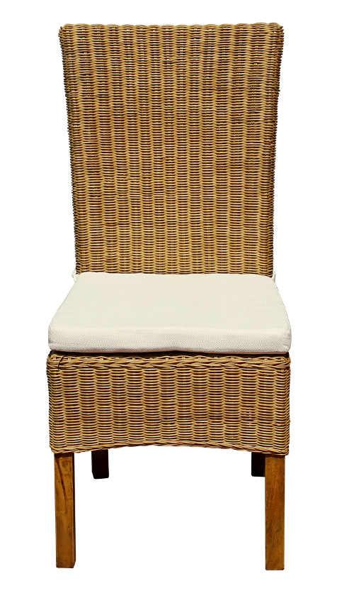 Židle na zahradu či terasu z přírodního ratanu