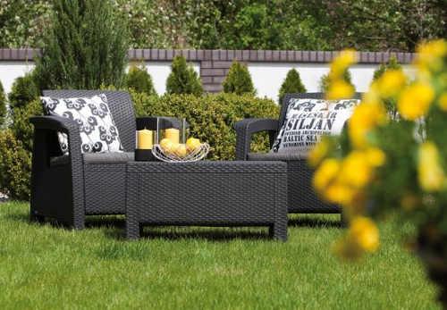 Kvalitní zahradní nábytek umělý ratan