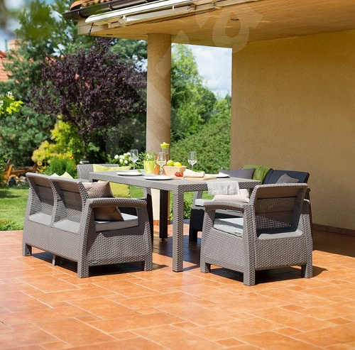 Moderní sada zahradního nábytku na terasu