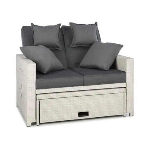Luxusní ratanová zahradní sedačka