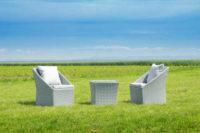 Zahradní set v moderním a jedinečném designu