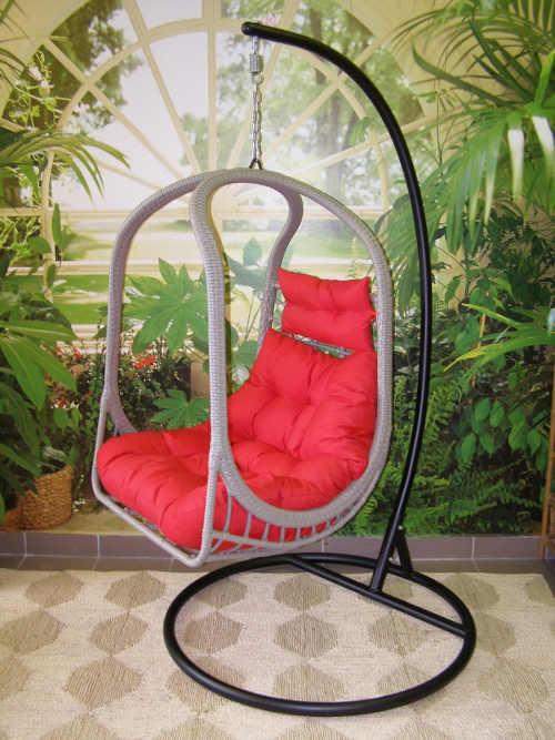 Závěsné houpací křeslo pro dokonalý odpočinek