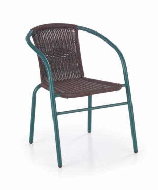 Ratanová židle v zajímavé barevné kombinaci