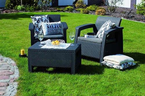 stylový a praktický zahradní set nábytku