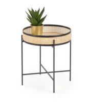 Ratanový stolek v originálním provedení