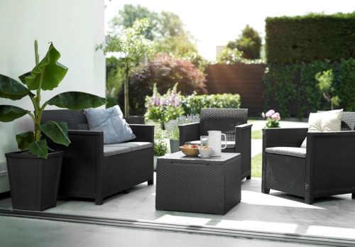 Zahradní moderní set ve dvou barevných variantách