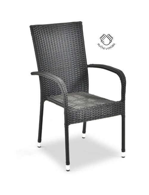 Zahradní ratanová židle ruční výroby