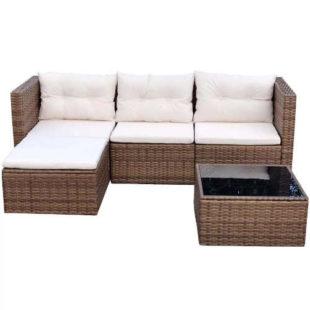 Zahradní rohová sedačka v moderním designu
