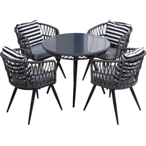 Zahradní jídelní set v elegantním designu