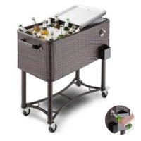 Pojízdný vozík na chlazení nápojů i potravin