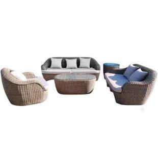 Prostorná sedací souprava v moderním designu