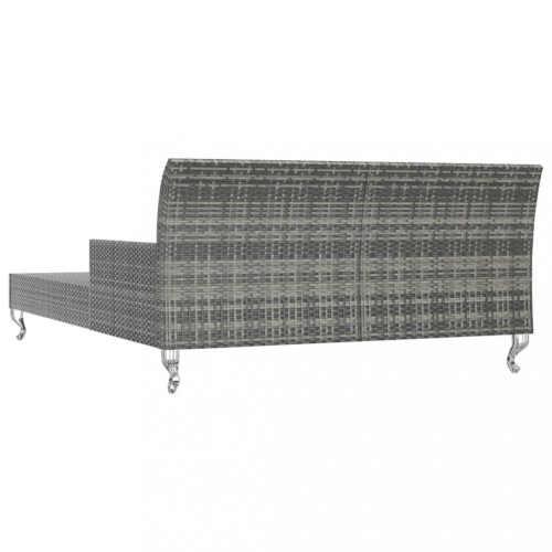 luxusní postel se stolky