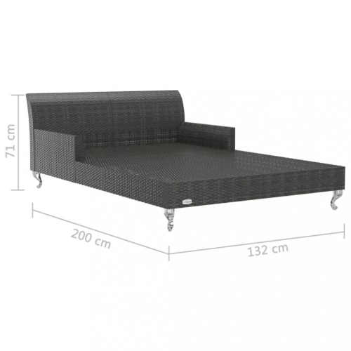 ratanová dvoulůžková postel dekorhome